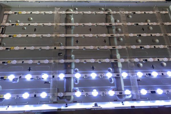 Диоды подсветки матрицы телевизора Samsung