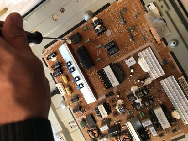 Настройка блока питания телевизора Samsung