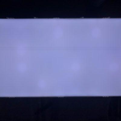 Свечение экрана телевизора LG